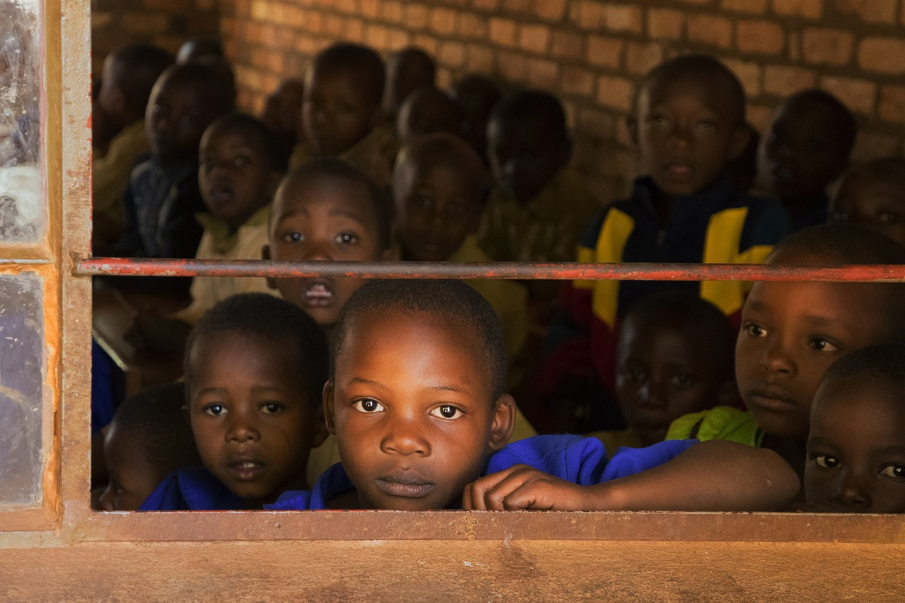 children, school, africa